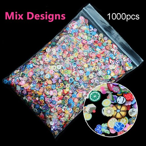 1Pack Nail Art Fruit Flowers Nail Rhinestones Stones AB Color Rhinestone Manicure For Nails Art Decorations Crystals Accessories