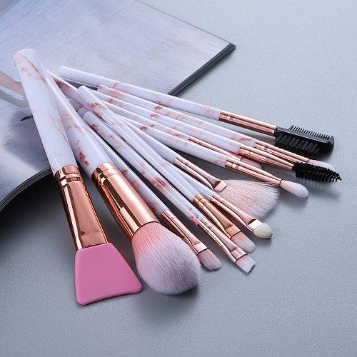 FLD 12/8/5pcs Eye Lip Makeup Brushes Set Eyebrow Comb Eyelash Sponge Eyeshadow Silicone Face Mask Edge Control Brush Cosmetics
