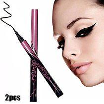 2pcs/set Waterproof Black Eyeliner Liquid eyes Make Up Beauty makeup Cosmetics shadows eyeshadow Eye Liner pen for women
