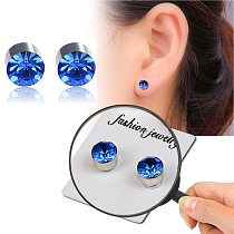 1 Pair Magnetic Slimming Earrings Slimming Patch Lose Weight Magnetic Health Jewelry Magnet Of Lazy Paste Slim Product Accessor