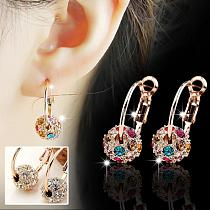 3 Pairs Magnetic Slimming Earrings Lose Weight Body Relaxation Massage Slim Ear Studs Patch Health Jewelry