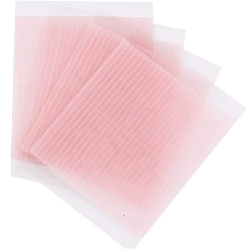 100Pcs/Pack Invisible Double Eyelid Tape Magic Eyelid Stickers Double Sided Strip Adhesive Fiber Stretch Objects For Eye Tools