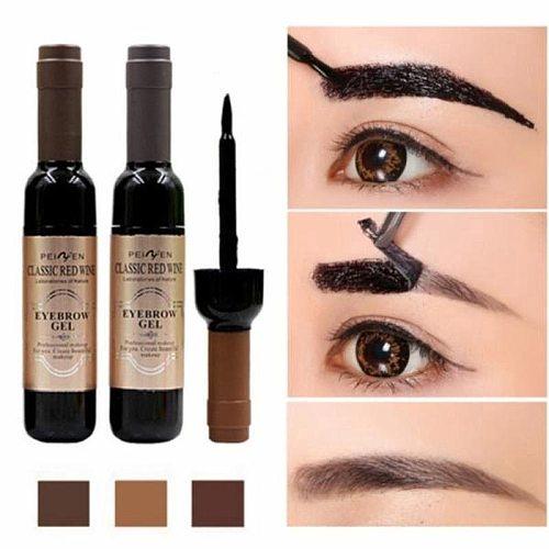 NEW Waterproof Anti-staining Tearing Eye Brow Tattoo Pen Tint Long Lasting Shade Makeup Paint Brown Eyebrow Gel maquillaje TSLM2