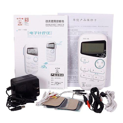 Hwato SDZ-IIB Handheld Electroacupuncture Stimulator Electro acupuncture treatment instrument 2 Channel Muscle Nerve stimulator