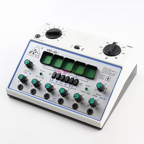 KWD 808I Electro Acupuncture Stimulator Machine KWD 808 Nerve and muscle Electroacupuncture therapy 6 waveforms 6 Output kwd808i