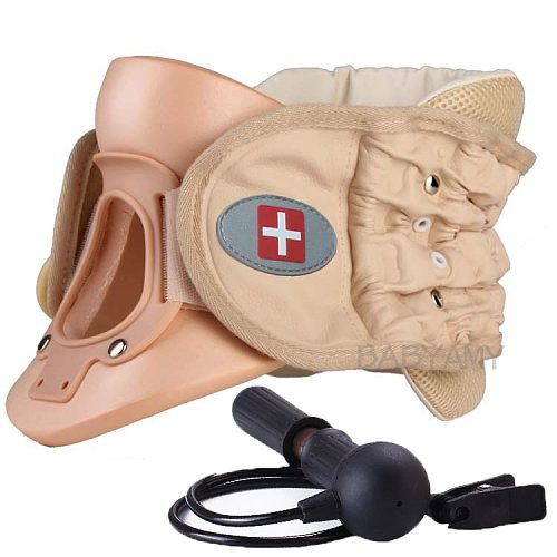 CR-802 Cervical Vertebra Brace Air Traction Therapy Item Belt Neck Pain Release Support neck cervical traction device
