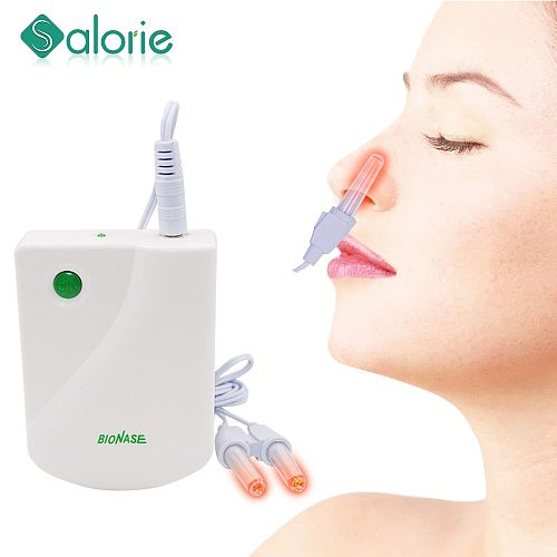 Body Massage Machine Proxy BioNase Nose Rhinitis Sinusitis Cure Therapy Massage Hay fever Low Frequency Pulse Laser Nose Health