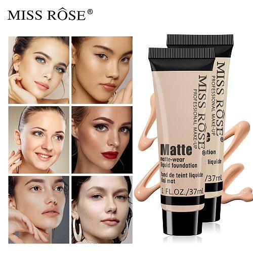 MISS ROSE repairing foundation cream foundation concealer foundation liquid net red live source wholesale