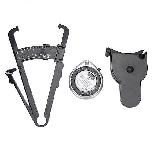 Body Fat Tester Retractable Waist Measuring Tape BMI Measuring Tool Weight Loss Caliper +150cm/60inch Body Fat Analyzer