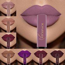 NICEFACE Lip Gloss 34 Colors Nude Matte Liquid Lipstick Mate Waterproof Long Lasting Moisturizing Lipgloss Lip Makeup Cosmetics