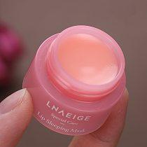 3g South Korea lip care sleep mask night sleep maintenance Moisturizing Lip Gloss Pink Lip bleach cream Nourishing Lip Care