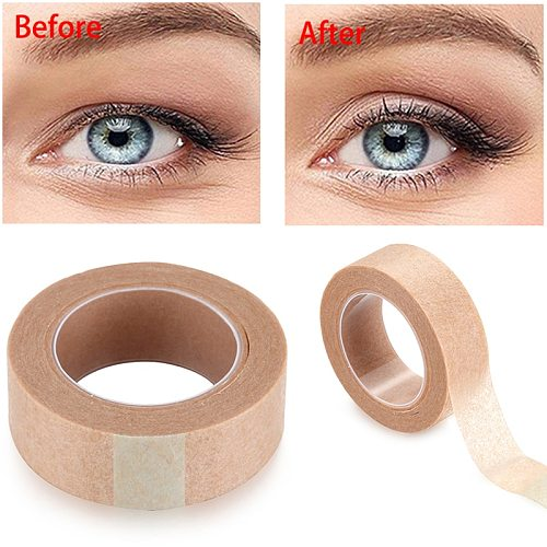 Hot New 1 Roll Double Eyelid Tape Natural Invisible Eyelid Single-Side Adhesive Eyelift Tapes Sticker Makeup Tool For Women