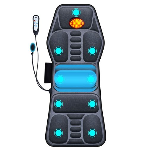 Full body electric neck massage smart manual airbag traction relaxation treatments multi-functional car home back cushion