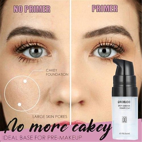 Invisible Pores Makeup Primer Smooth Skin Primer Pores Disappear Face MakeUp Base Contains Vitamin A,C,E for Optimum Skin Health
