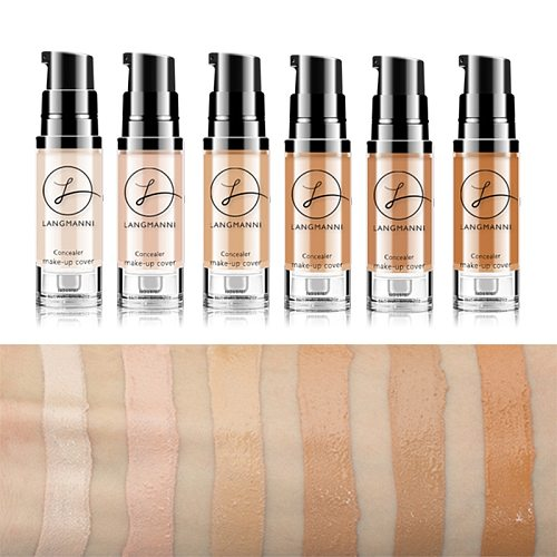 Full Coverage Waterproof Colour Changing Soft Matte Liquid Foundation Foundation Concealer Makeup Matte Face Tone