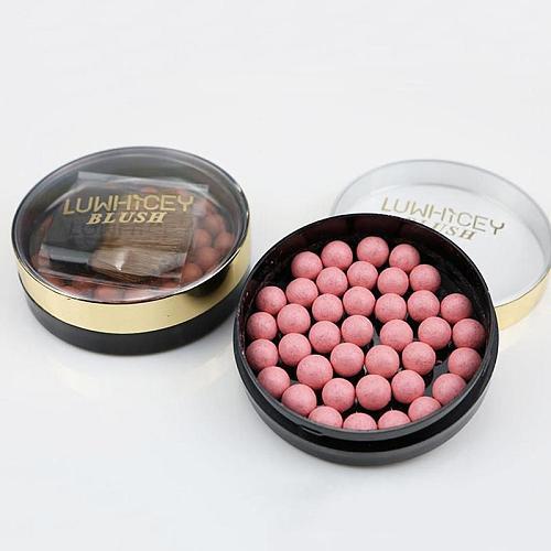 3 In 1 Blush Face Matte Blusher Ball Eyeshadow Contour Professional Powder Balls Blush Makeup Waterproof Long Lasting