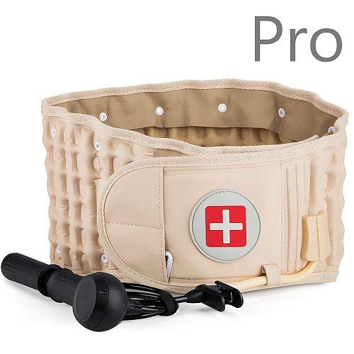 Lumbar Relief Spinal Decompression Belt Pro Air Traction Belt Waist Brace Support Lumbar Backache Waist Brace Pain Release