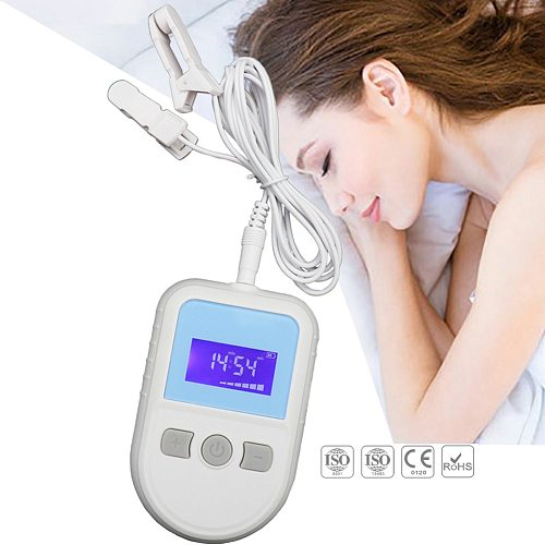 Cranial Electrotherapy Stimulator CES Device Sleep Aids Insomnia Therapy Anti Sleepless Cure Anxiety Stress Depression Migraine