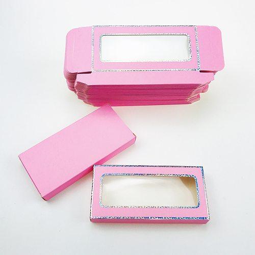 Lash Boxes Packaging 25mm Eyelash Packaging Without Tray Custom Own Logo Mink Lashes Pack Wholesale Eyelash Packaging Boxes Case