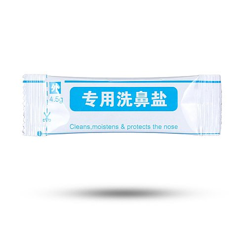 2.7g 4.5g Nasal Wash Salt Adults Children Neti Pot Salt for Allergies Relief Rinse Irrigator Nose Cleaner 300ML Dropshipping