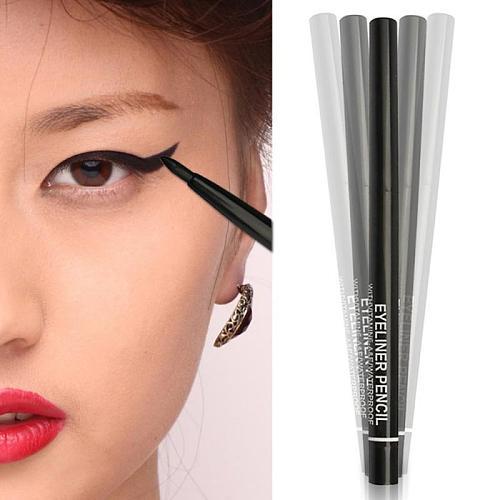 1 pc Makeup Eyeliner Waterproof Rotating Gel Cream Eyeliner Pen long-lasting Quick-Drying Smooth TSLM2
