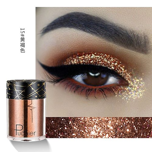 Pudaier 36 Colors Makeup Eyeshadow Glitter Pigment Based Cosmetics Gift For Girl Make Up maquiagem Beauty Tool Korea Style TSLM1