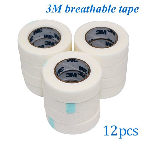 Professional Patch Eyelashes Extension Under Eyelash 3M Tape / Medical Tape for Lash Extension Makeup Tool 3M T8030C