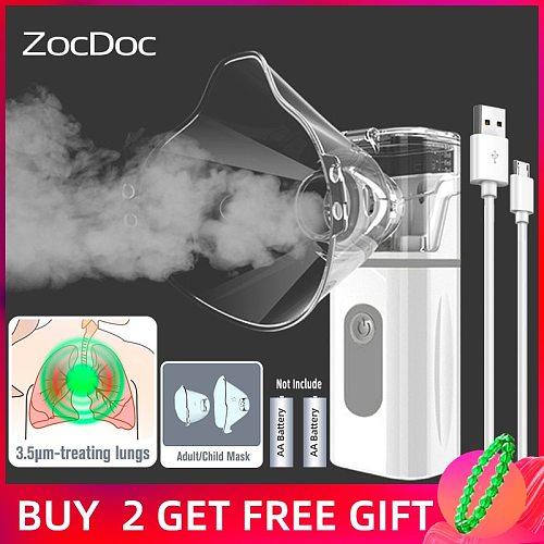 Nebulizer portable health care steam inhalation machine medical devices baby care health asthma inhaler ultrasonic nebulizer