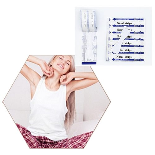 2000pcs/lot (66x19mm) Snore Free Breathe Right Nasal Strips Bulk Anti Snoring Breath Right Nasal Strip