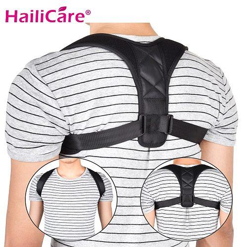 Upper Back Brace Support Belt Adjustable Back Posture Corrector Body Clavicle Spine Back Shoulder Lumbar Posture Correction