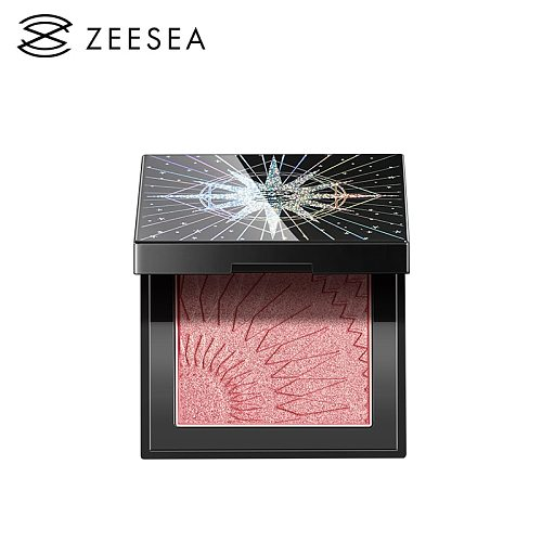 ZEESEA New 4 Colors Pigmented Blush Face Cheel Blusher Natural  Mineral Palettes