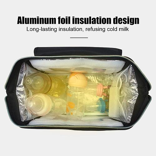 24L large capacity uvc led disinfection mummy bag portable baby goods daily storage bags pouch cosmetic case for daily backpack