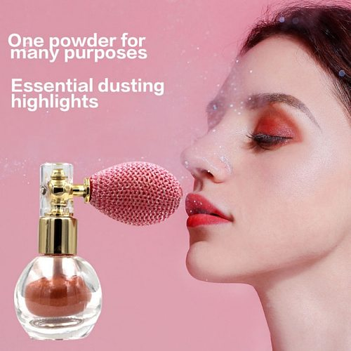 Body Glitter Powder Eye Shadow Powder Highlight Powder For Hair Eyes Neck And Lips Makeup