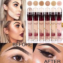 Flawless Face Makeup Dark Circle Eraser Concealer Pen Under Eye Concealer Highlighter Cover up Acne Scars Fine Lines Lip Primer