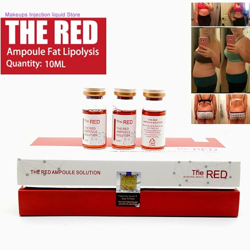 Korean The Nursing Liquid Red Ampoule Solution Lipolytic Lose Weight Dissolve Fat Lipolysis For Atomizer Hyaluron Pen Lipolytic
