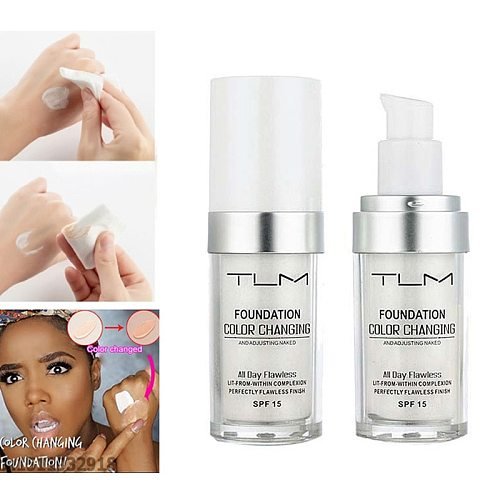 30ML Magic Color Changing Liquid Foundation Soft Makeup Base Nude Face Cover Concealer Long Lasting Makeup Skin Care TSLM2