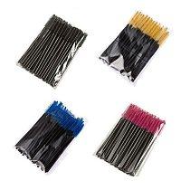Eyelash Extension Disposable Eyebrow brush Mascara Wand Applicator Spoolers Eye Lashes Cosmetic Brushes Set makeup lashes tools