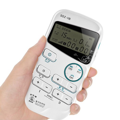 Hwato SDZ-IIB Portable Electroacupuncture Nerve and Muscle Stimulator Electro Acupuncture Treatment Instrument 3 Waveform
