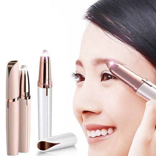 Electric Eyebrow Trimmer Pen Hair Remover Eyebrow Razor Multifunction Epilator Painless Eye Brow Trimmer Face Shaver