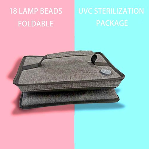 Nail UV  Lamp Phone Sterilizer Box Clothes Portable Sterilizer Underwear Towel Disinfection Phone Mask Cleaner Nail Tool