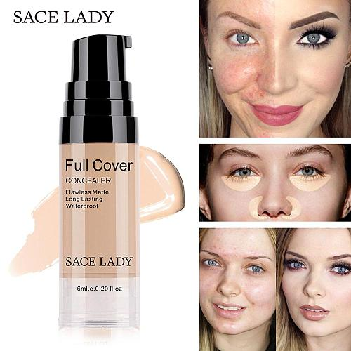 Professional Liquid Eye Concealer Makeup Base Full Cover for Eye Dark Circle Face Liquid Corrector Cream Waterproof Cosmetic