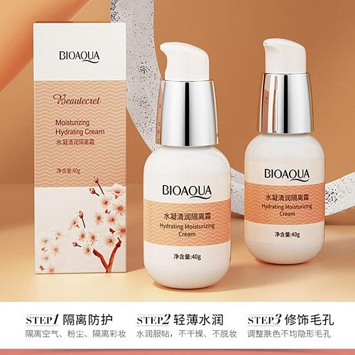 Moisturizing Isolation Cream Hydrating Oil Control BB Cream Natural Concealer Brightening Complexion Makeup