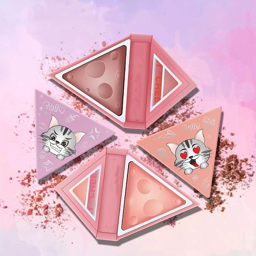 Cheese blush tray triangle blush