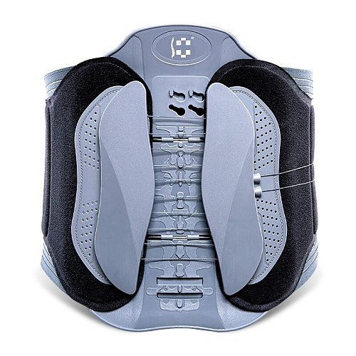 Quadruple traction kidney belt constant temperature hot compress arc waist protector home lumbar muscle strain retractor