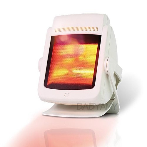 200W IR Lamp Light Therapy IR Heat Therapy Infrared Light Heat Lamp for Back Pain, Muscle Pain, Arthritis, Knee Pain, Joint Pain