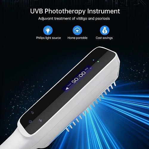 YOUWEMD UVB Phototherapy Instrument 311NM Narrowband Ultraviolet Lamp Laser Treatment Anti White Spots Skin  Vitiligo Psoriasis
