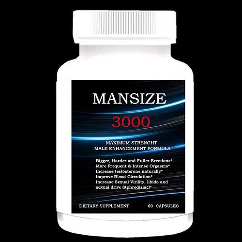 BIGGER PENIS, Thicker, Rounder, Stronger, Fuller MAX GIRTH Male Enhancement Capsule