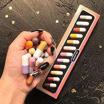12 Colors Cute Mini Lipstick Set Matte Velvet Capsule Waterproof Lipstick Cosmetic Gift Long Lasting Easy Color Lipstick TSLM1