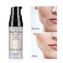 Facial Base Primer Makeup Oil Control Matte Make Up Face Base Cream 24K Gold Professional Pores Foundation Primer Cosmetic TSLM1