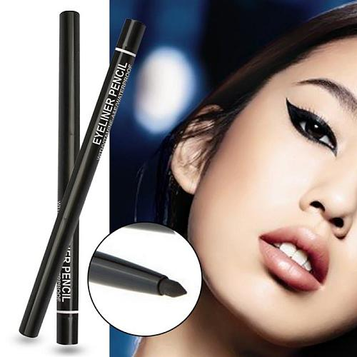 1pc sweatproof not blooming Easy to color Quick Dry eyeliner Black Liquid automatic rotating eyeliner Cosmetics TSLM2